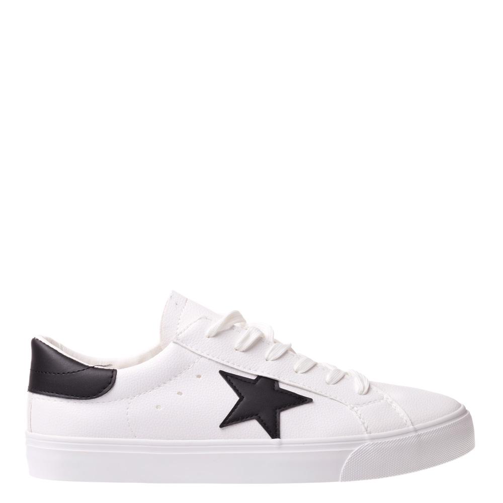 Pantofi sport barbati Star alb cu negru